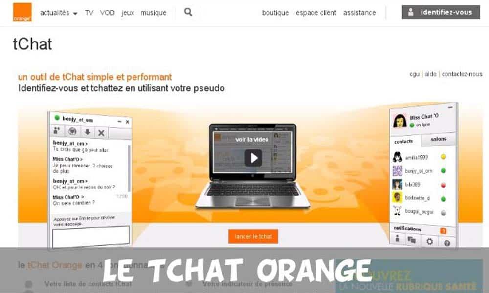 tchat orange