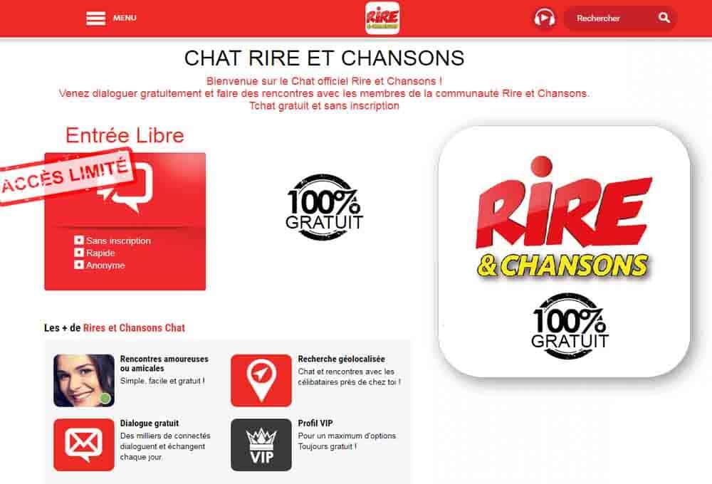 Tchat Rire et Chanson