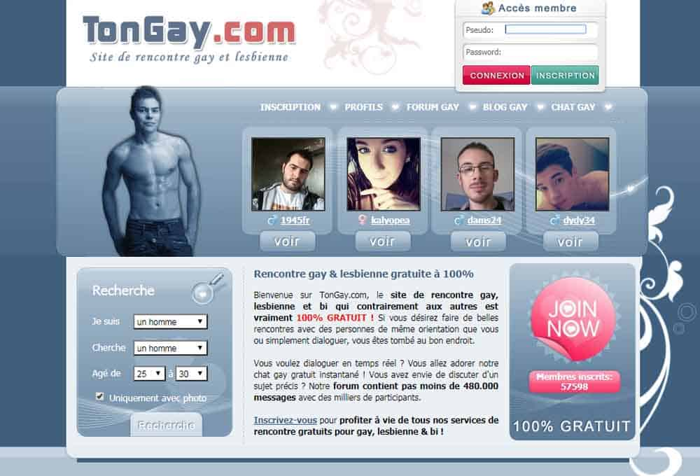 Tchat gay sans inscription